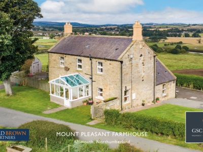 Mount Pleasant Farmhouse, Alnmouth, Northumberland