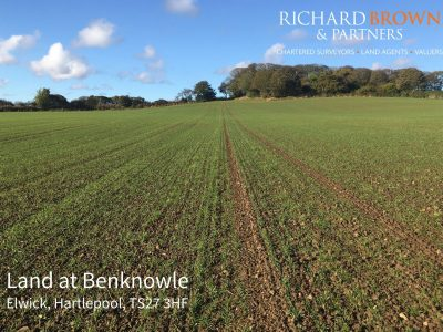 CLOSING DATE – Land at Benknowle, Elwick, Hartlepool